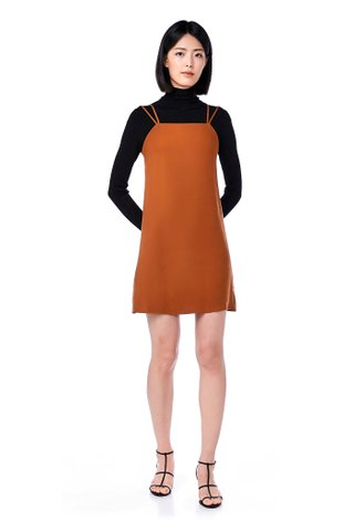 Linnie Double Strap Bib Dress