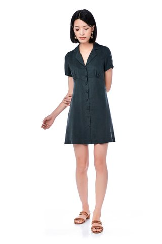 Barli Button-Through Dress