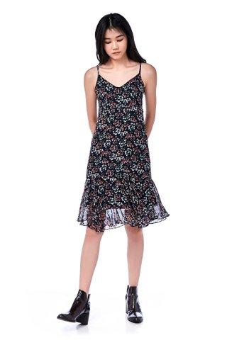 Andrade Frill-Hem Dress