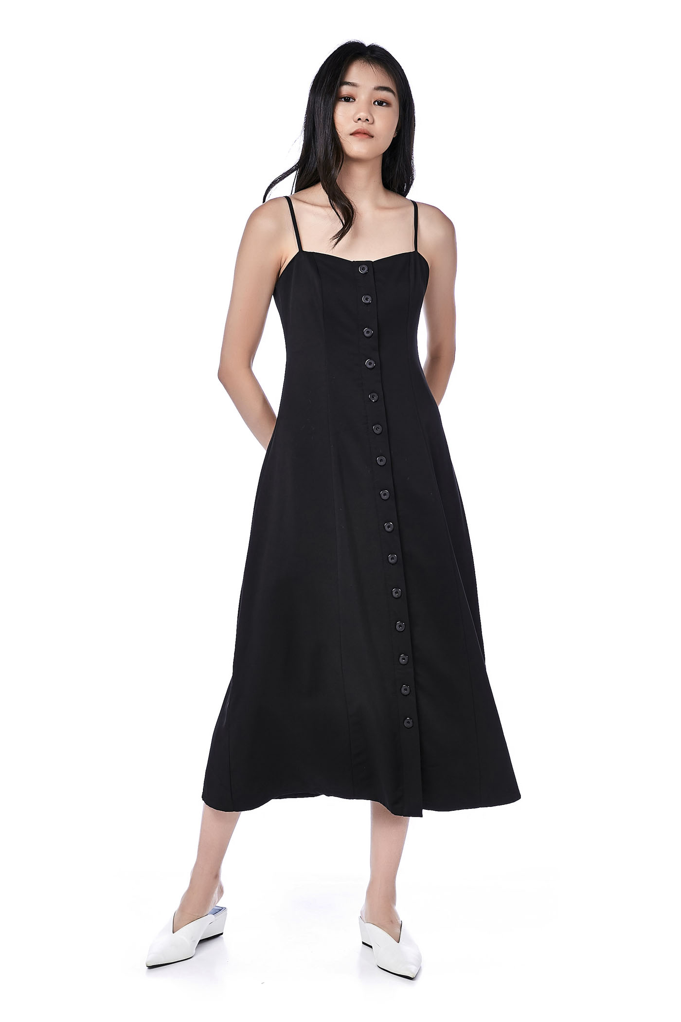 Koozel Button-Through Maxi Dress