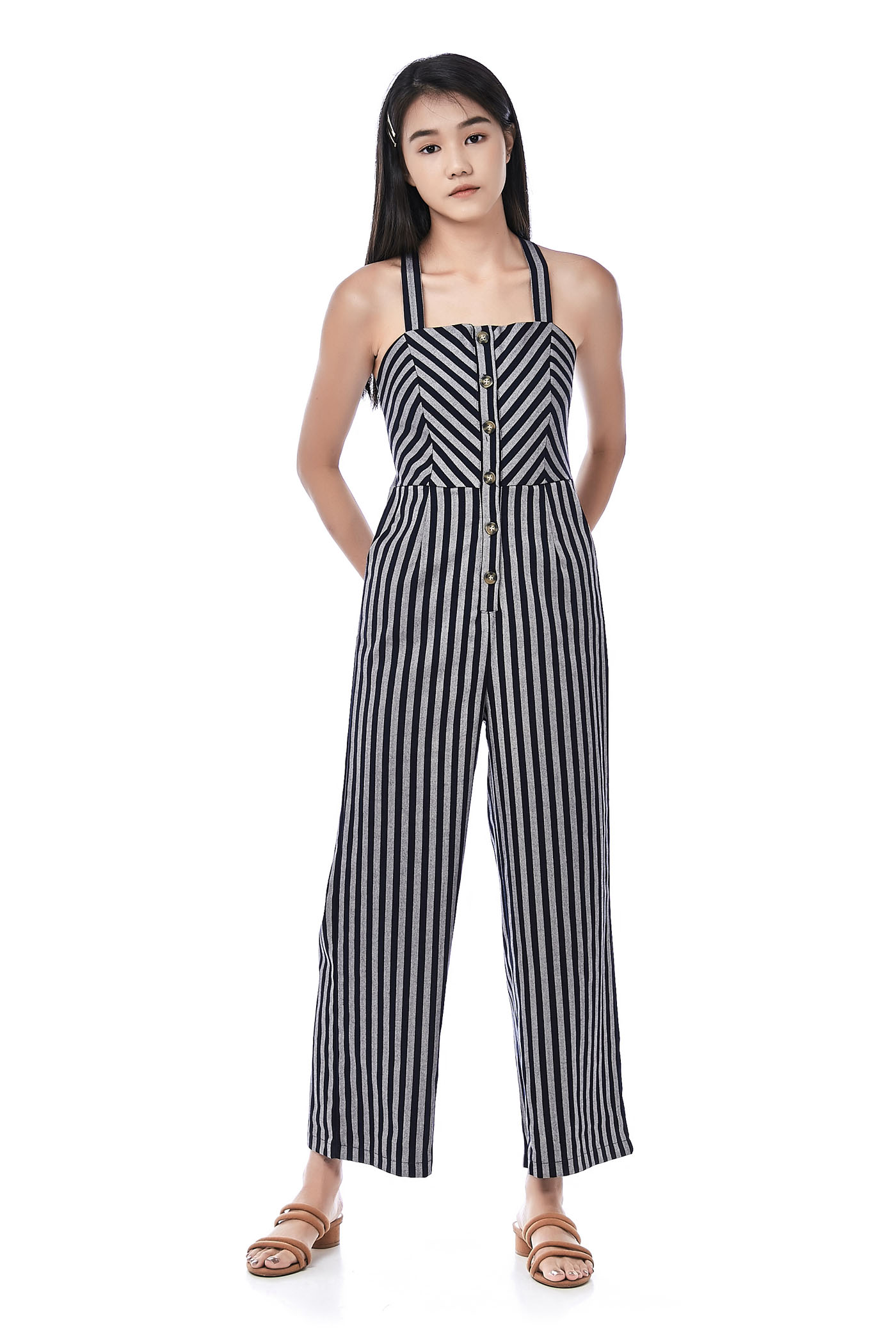 Wona Cross-Back Jumpsuit
