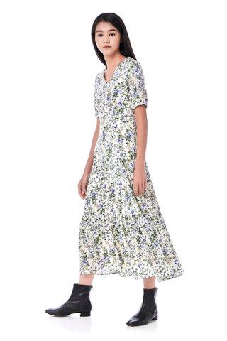 Shontelle Frill-Hem Dress