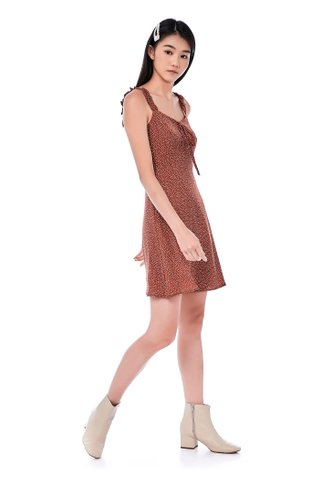 Seora Ruffle Strap Dress