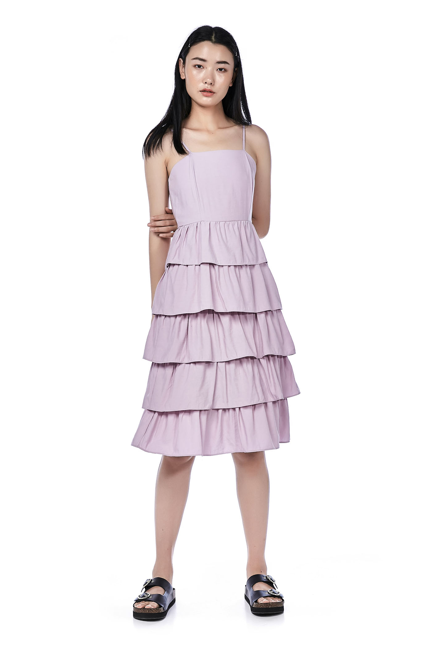 Mahalia Tiered-Ruffle Dress