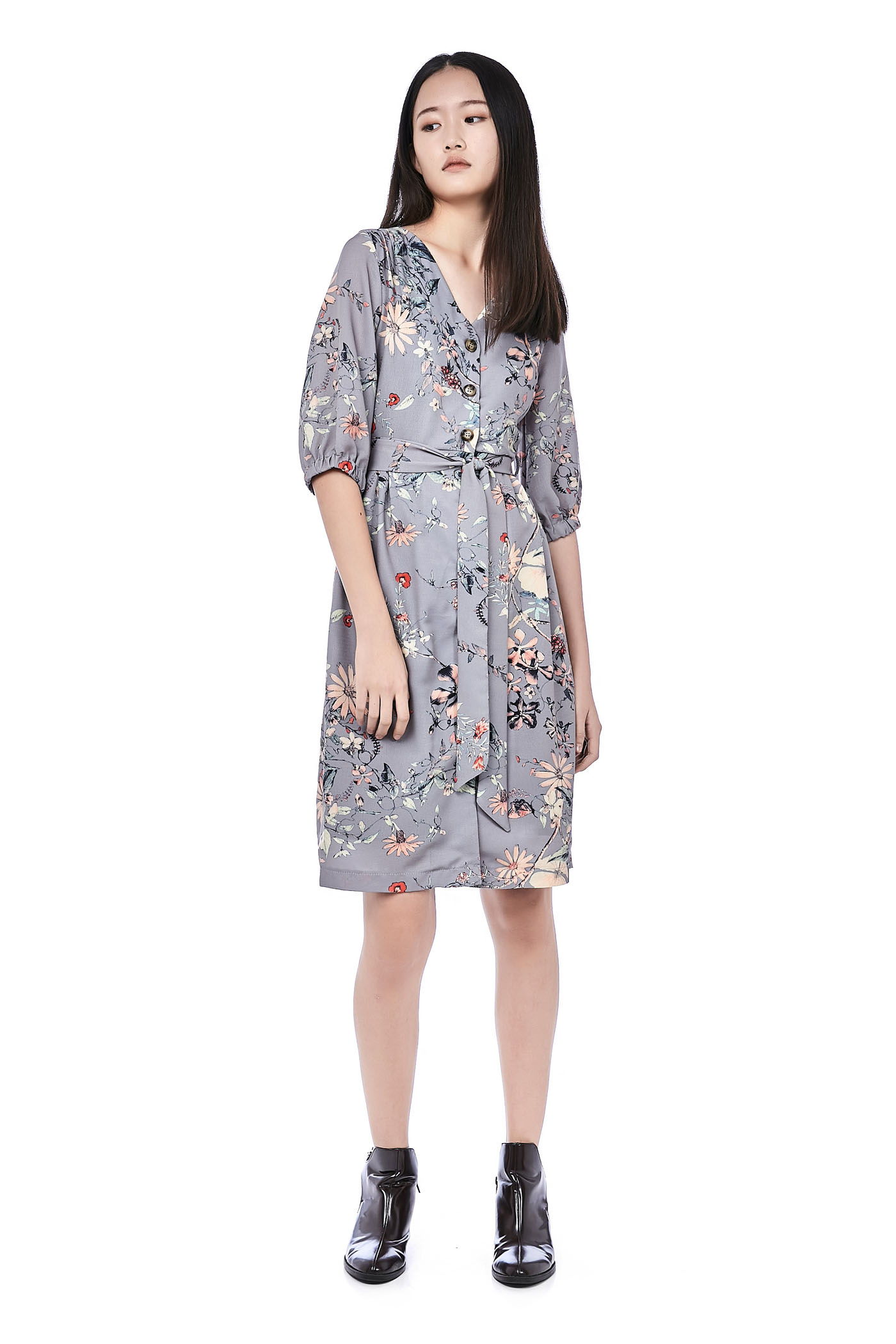 Hattie Button-Through Dress