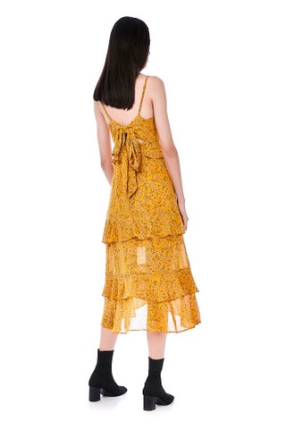 Slyna Tiered-Ruffle Dress