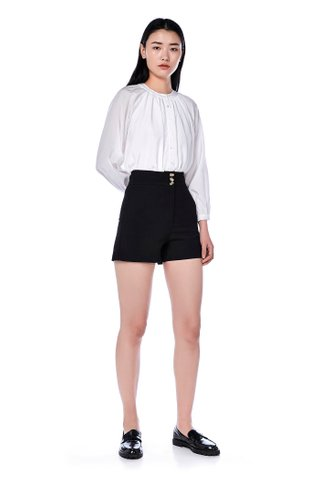 Lestari High-Waisted Shorts