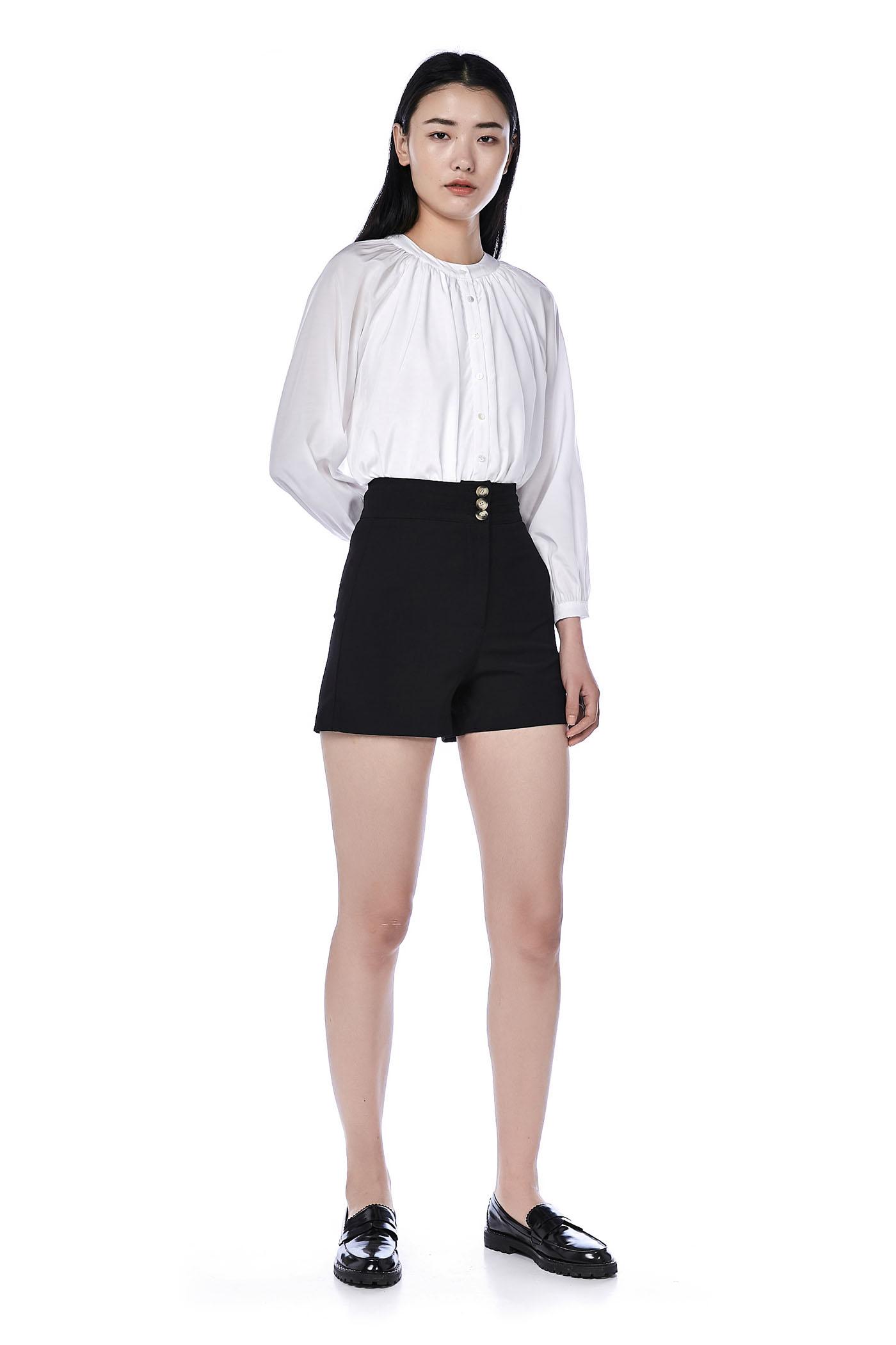 Lestari High-Waisted Shorts