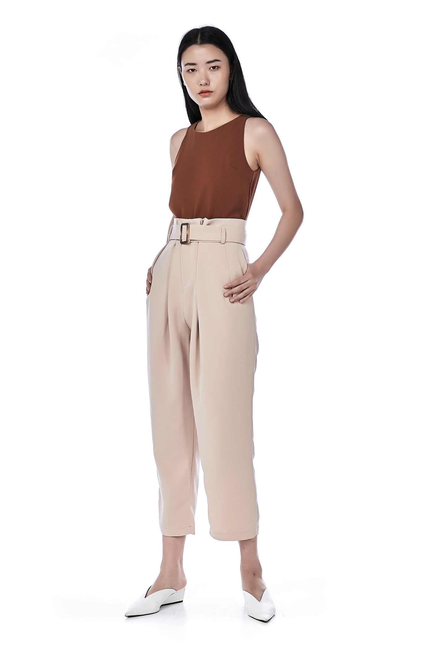 Misty High-Waisted Pants