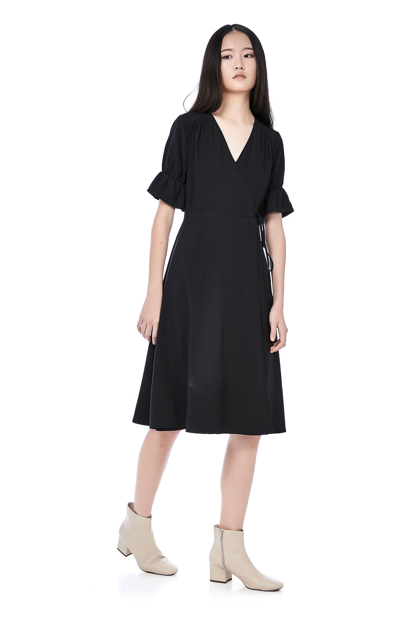 Yara Overlap Dress
