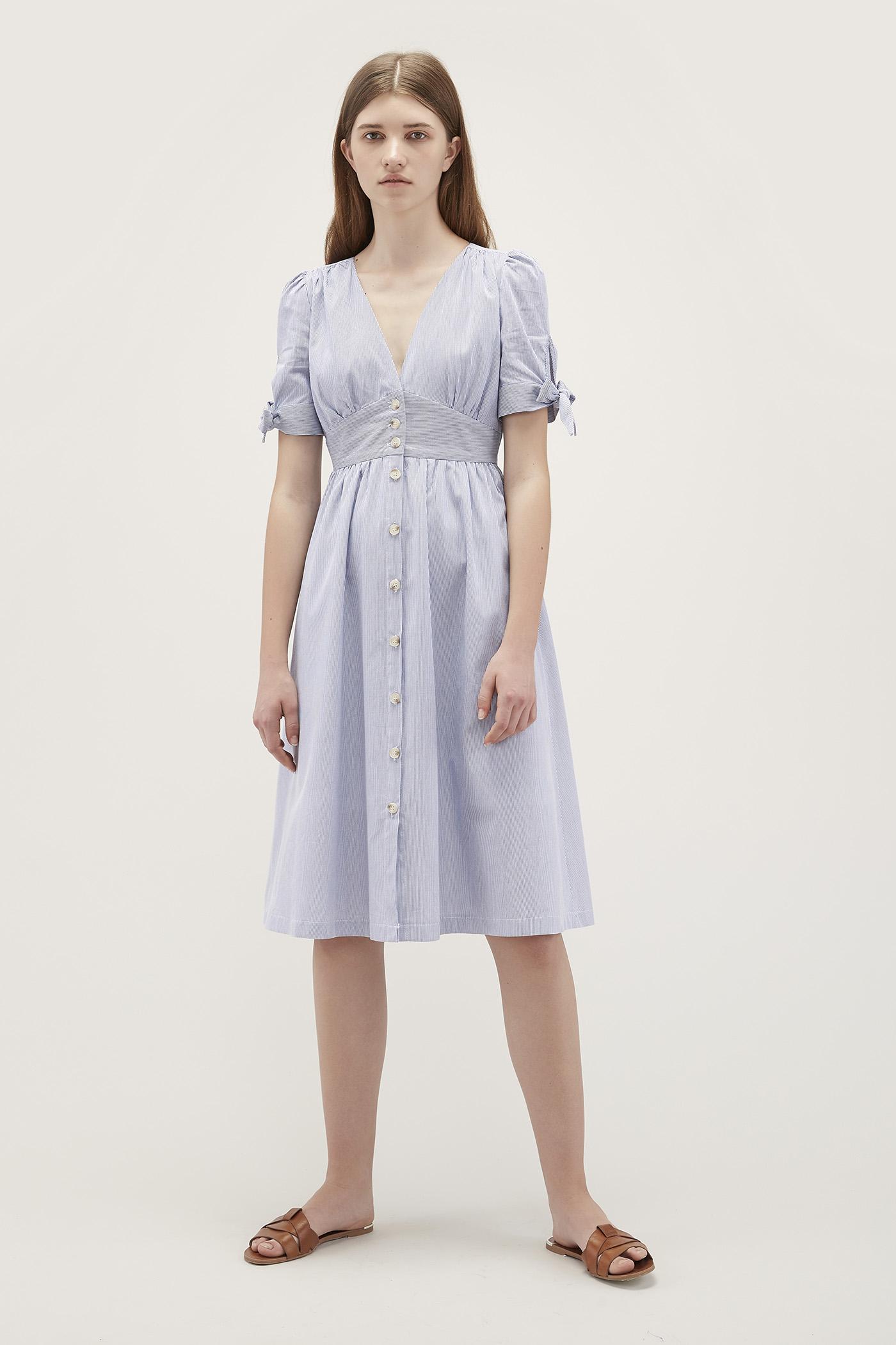 Myla Tie-Sleeve Dress
