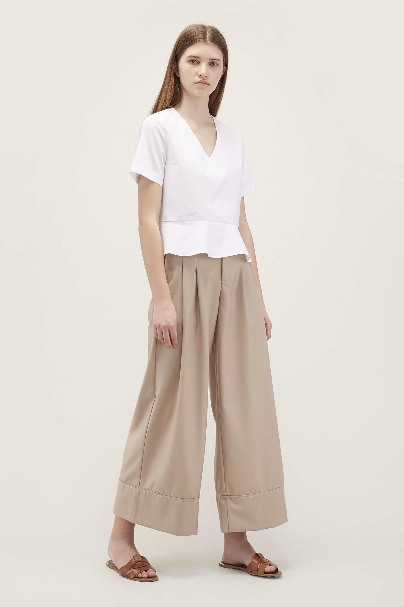 Marger Wide-Leg Pants