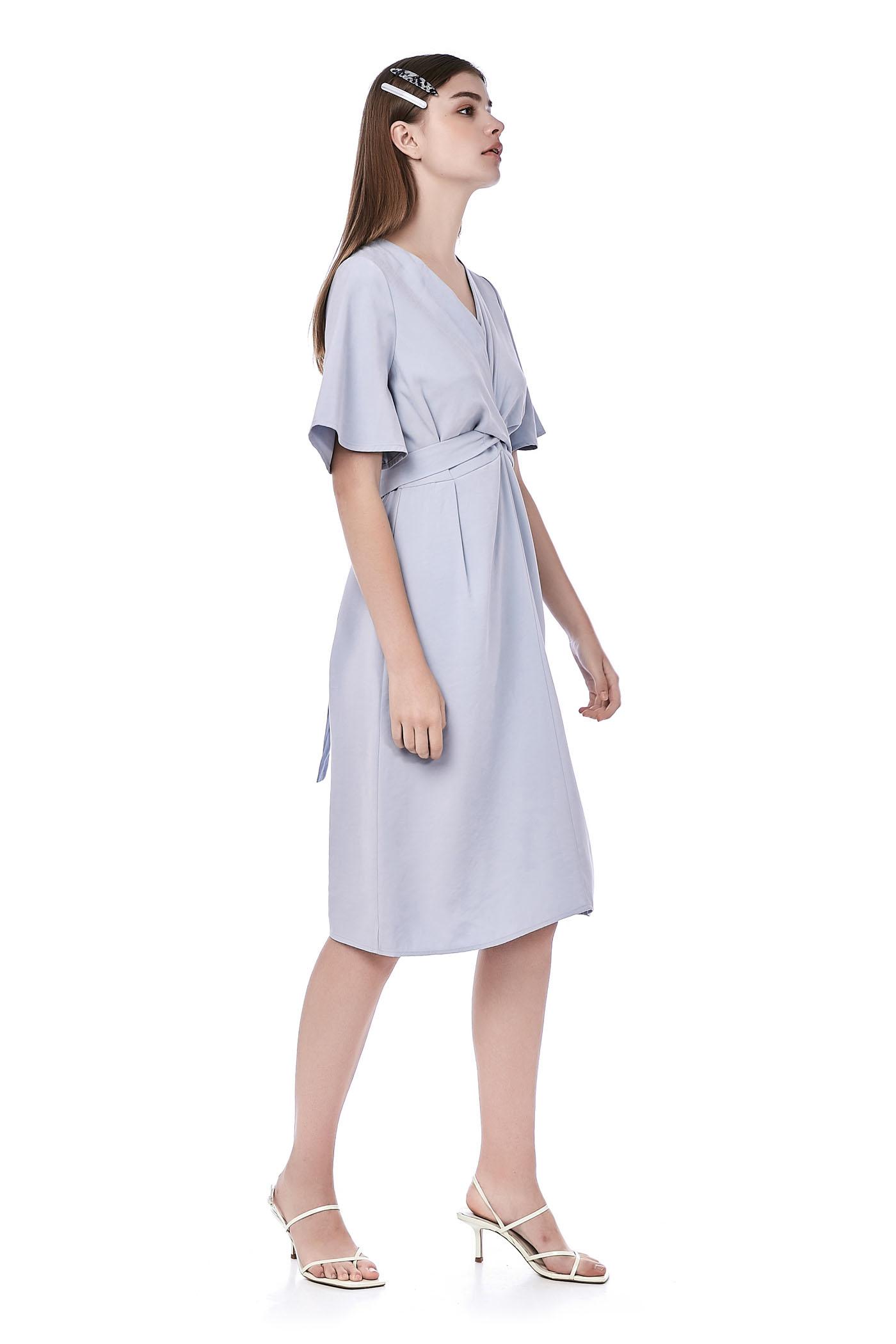 Zaira Back-Tie Dress