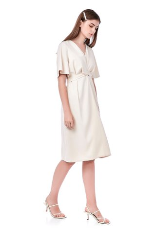 Zaira Back-Tie Dress