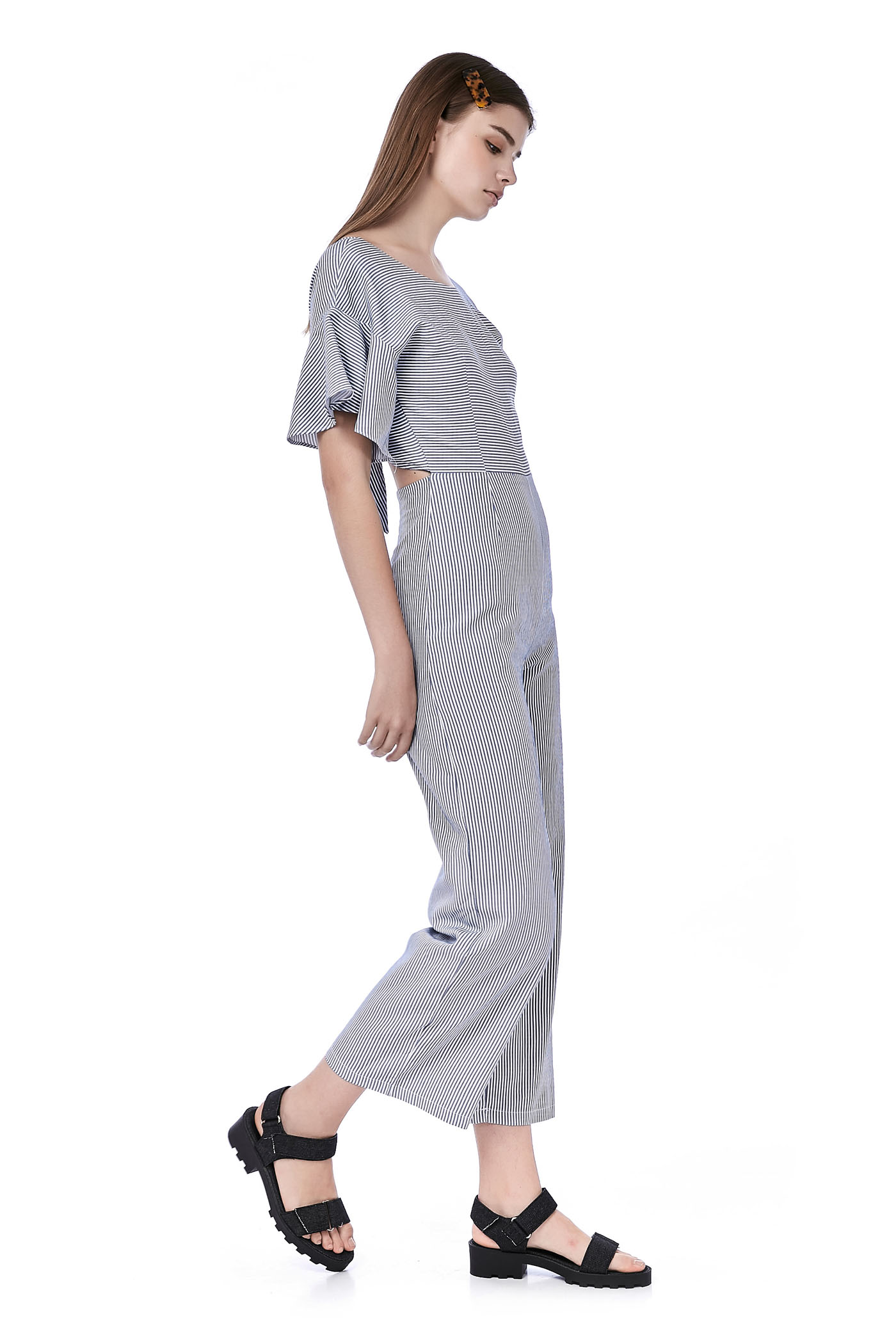 Eryka Back-Tie Jumpsuit