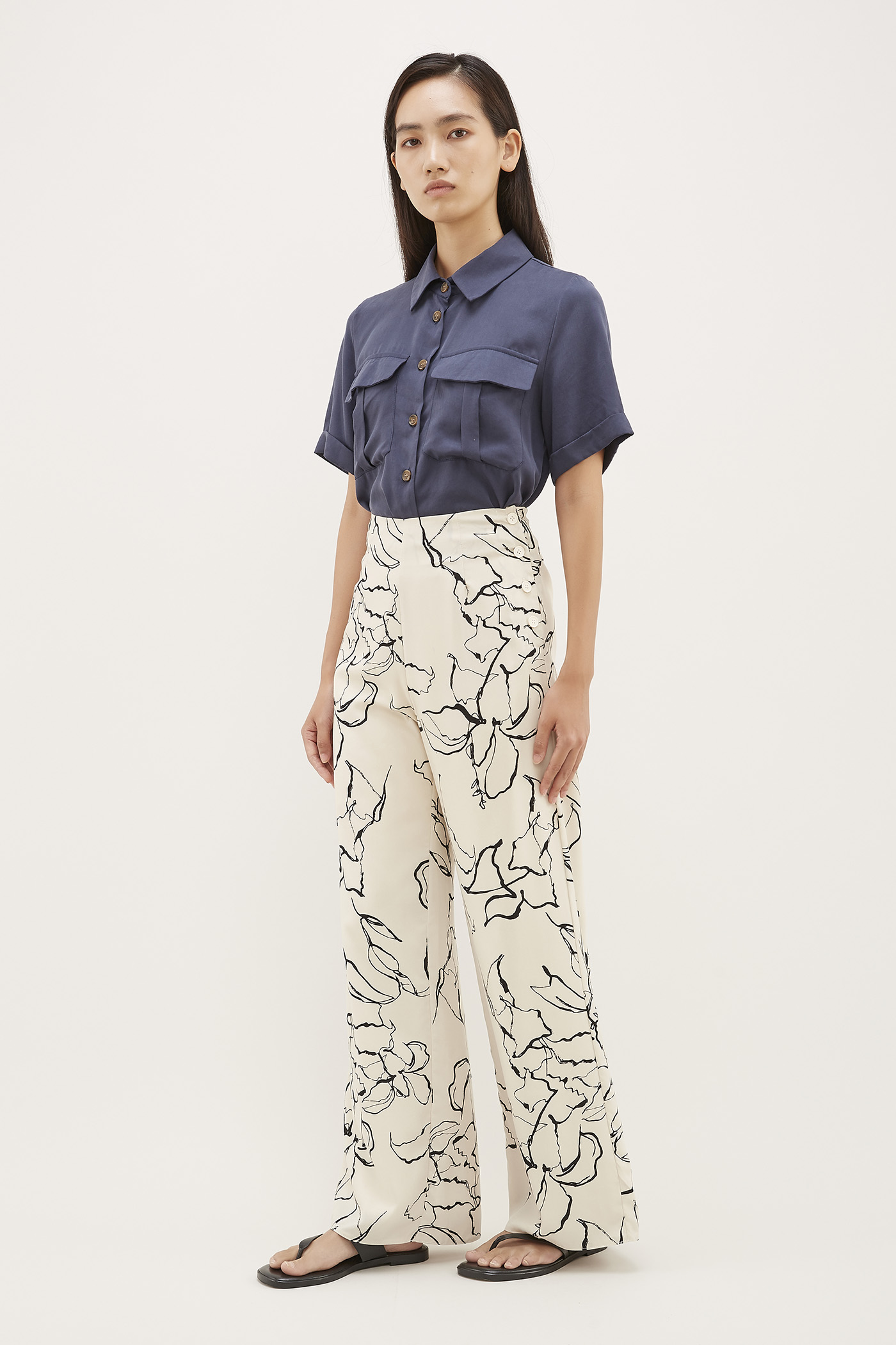 Lowen High-Waisted Pants