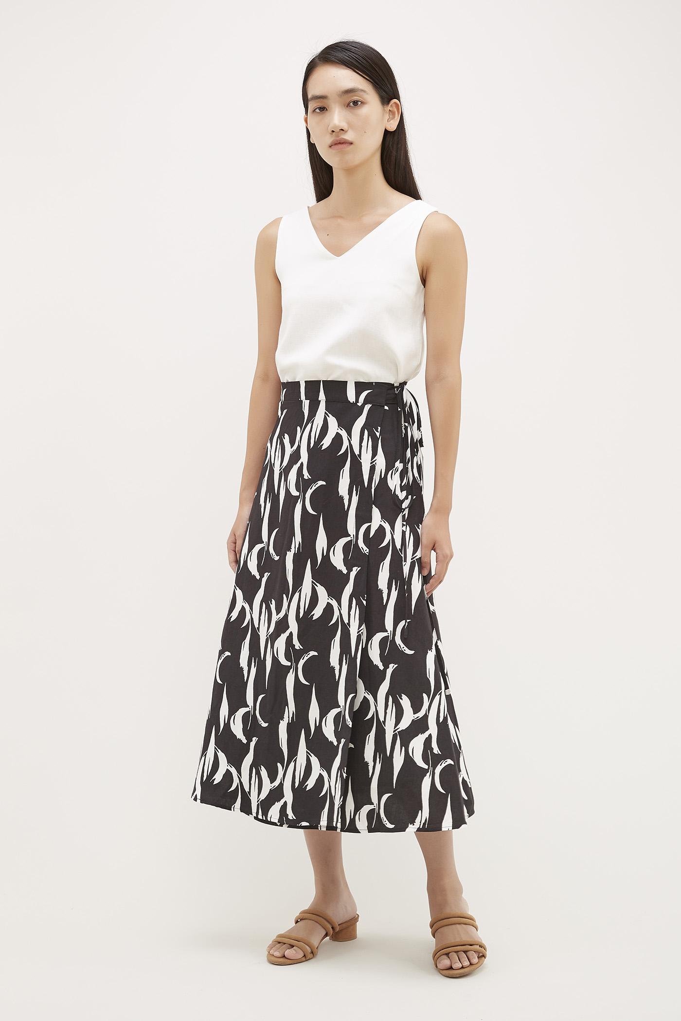 Ender Wrap Skirt