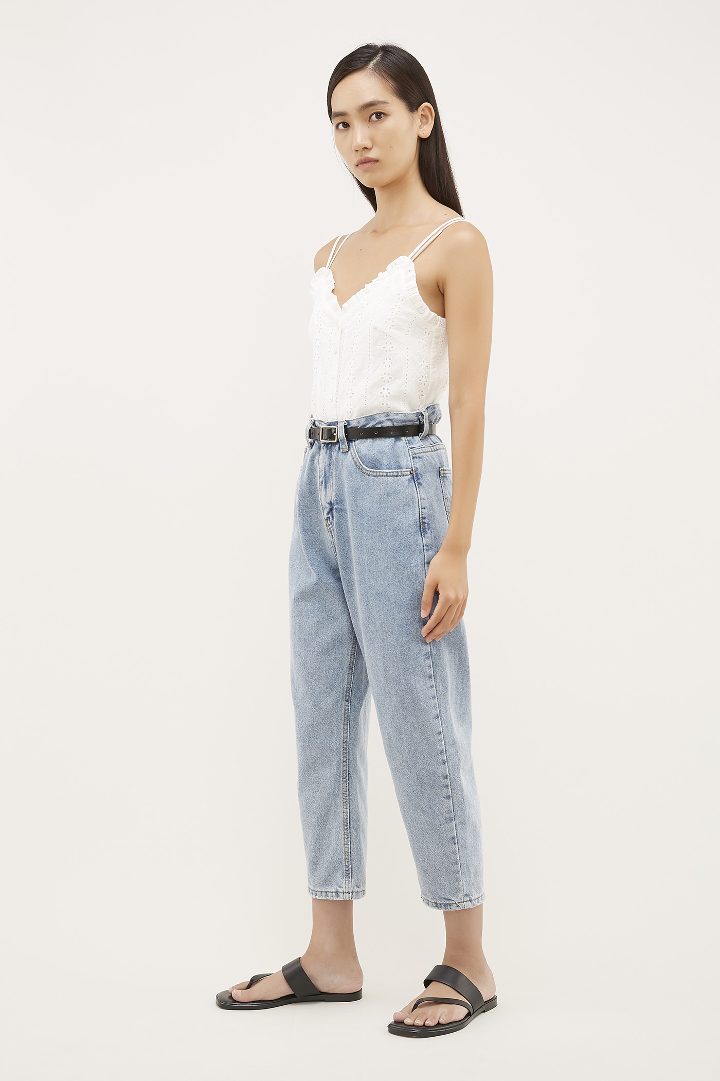 Teagen High-Waisted Jeans