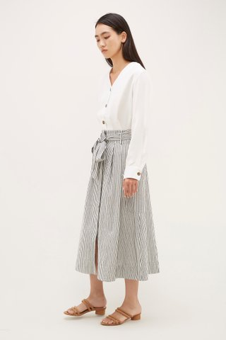 Rina Stripe Maxi Skirt