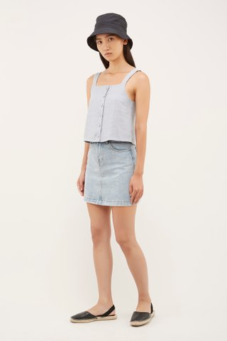 Luke Denim Skirt