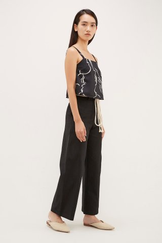 Jett Square Neck Crop Top