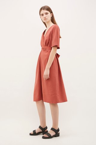 Desia Twist-Strap Dress