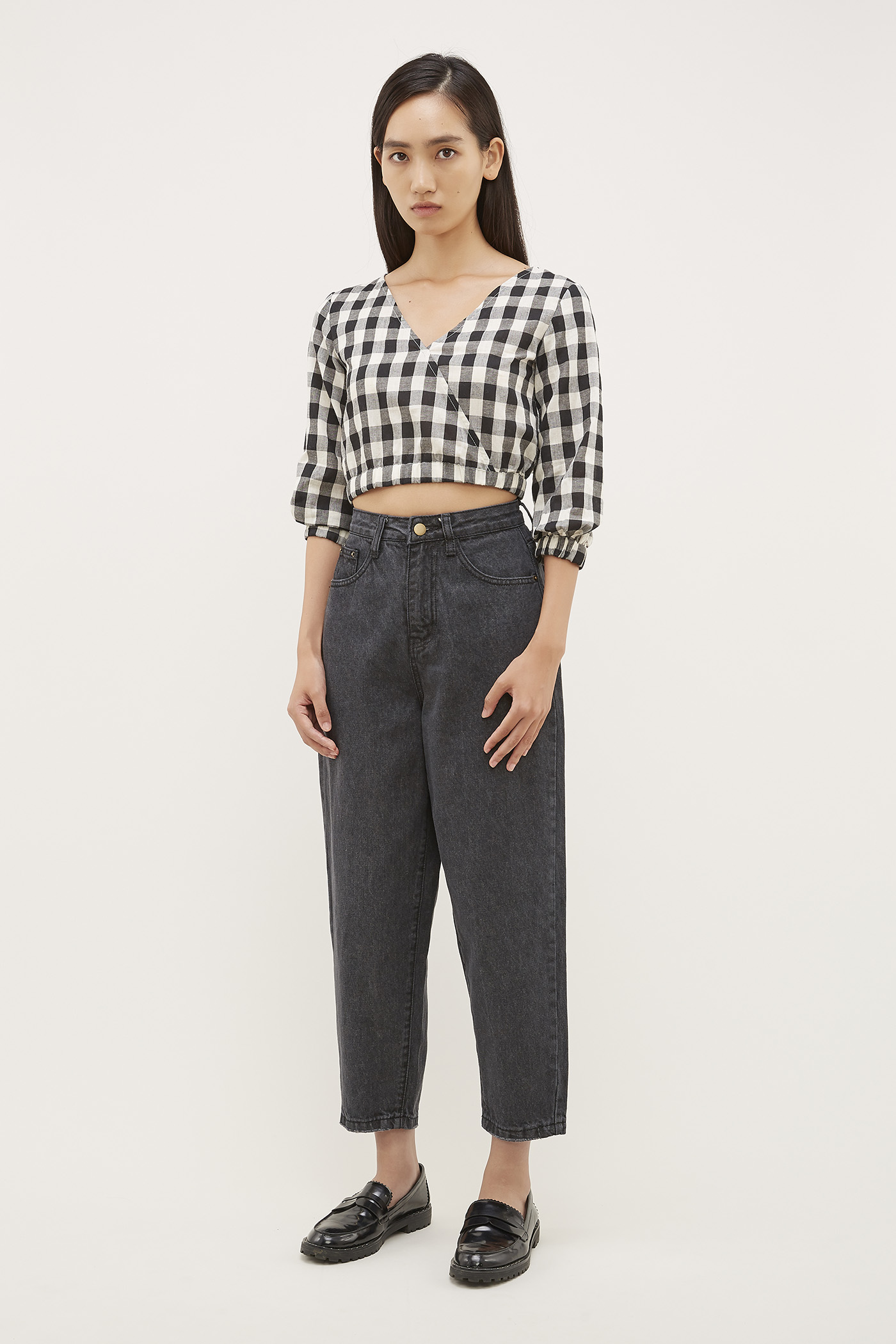 Evva High-Waisted Jeans