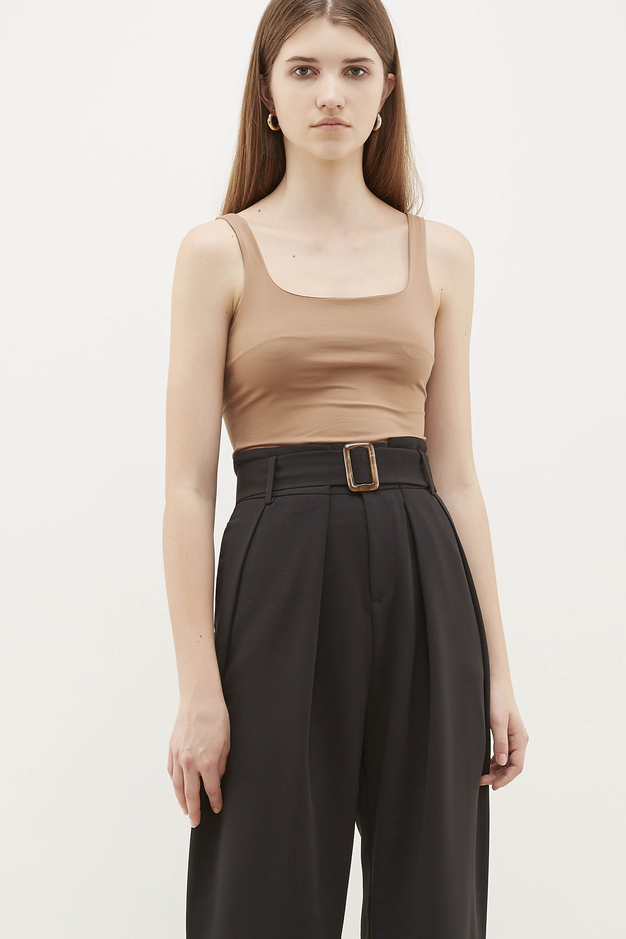 Efren Square-Neck Top