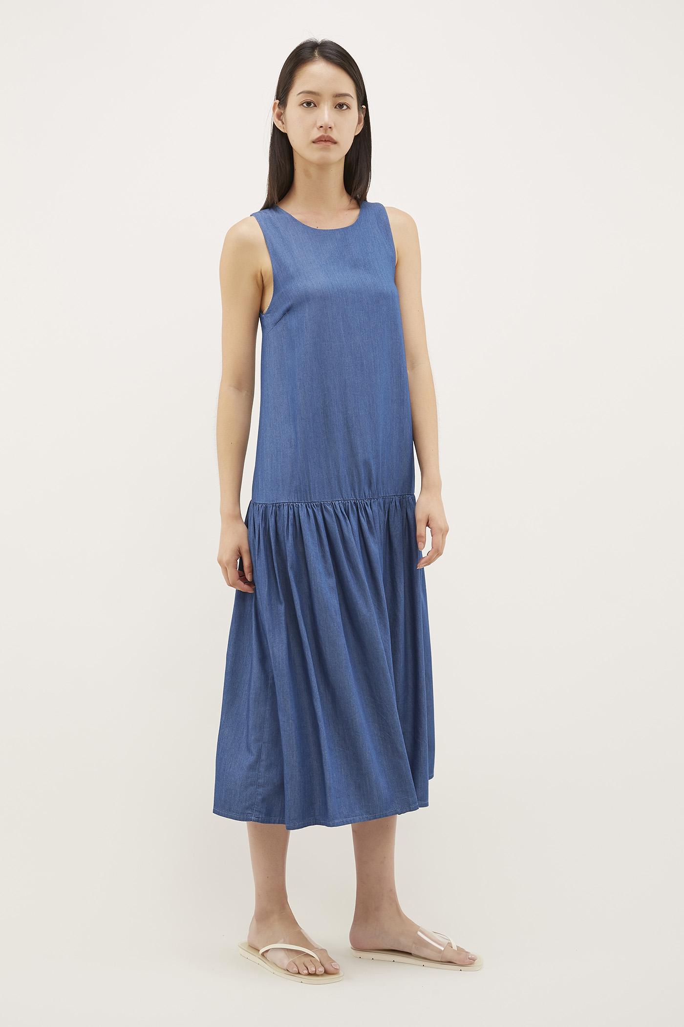Parish Drop-waist Dress