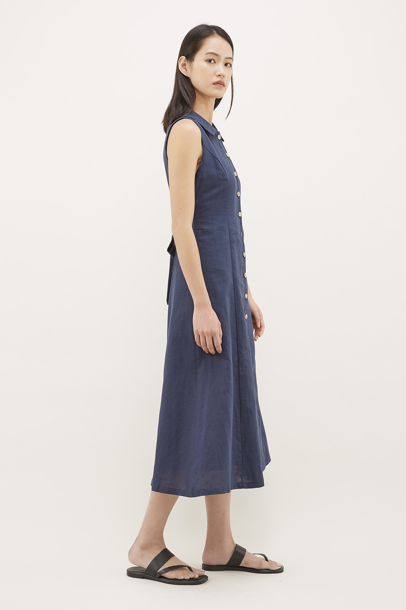 Kirby Collared Dress