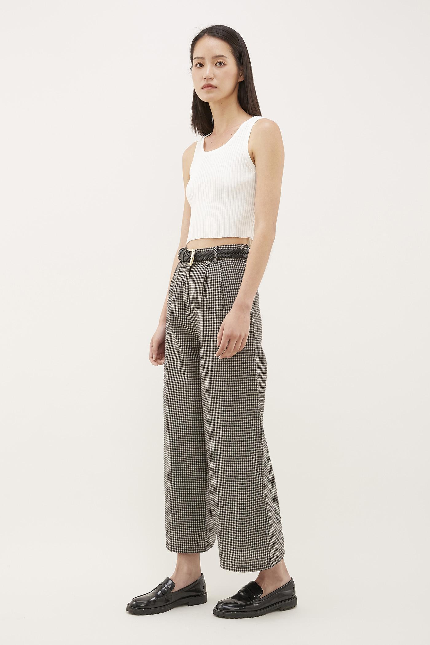 Keon Wide-Leg Trousers