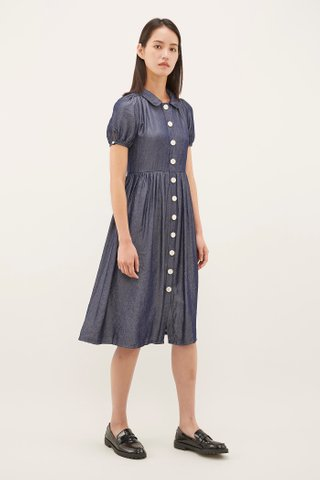 Leimy Collared Dress
