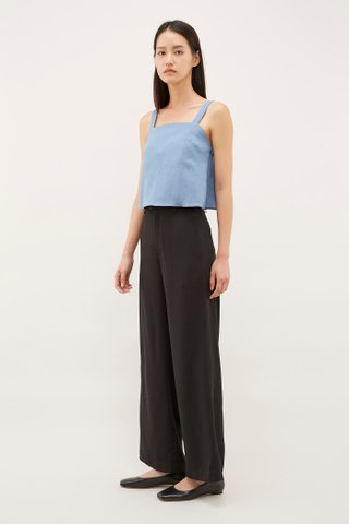 Mya Square-Neck Crop Top