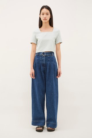 Celio Belted Jeans