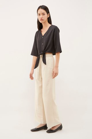Chavelle Front-Tie Top