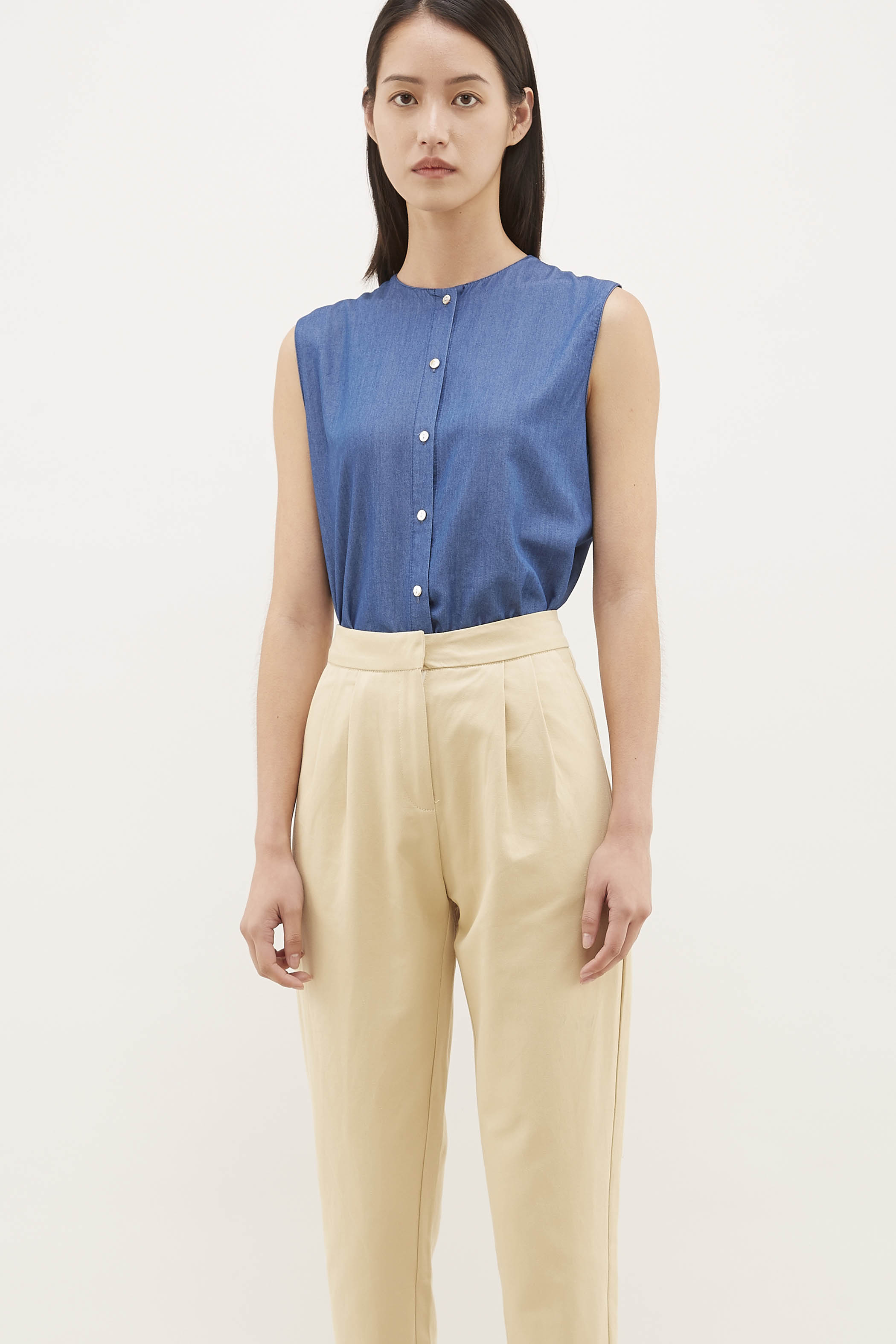 Perry Button-Down Top