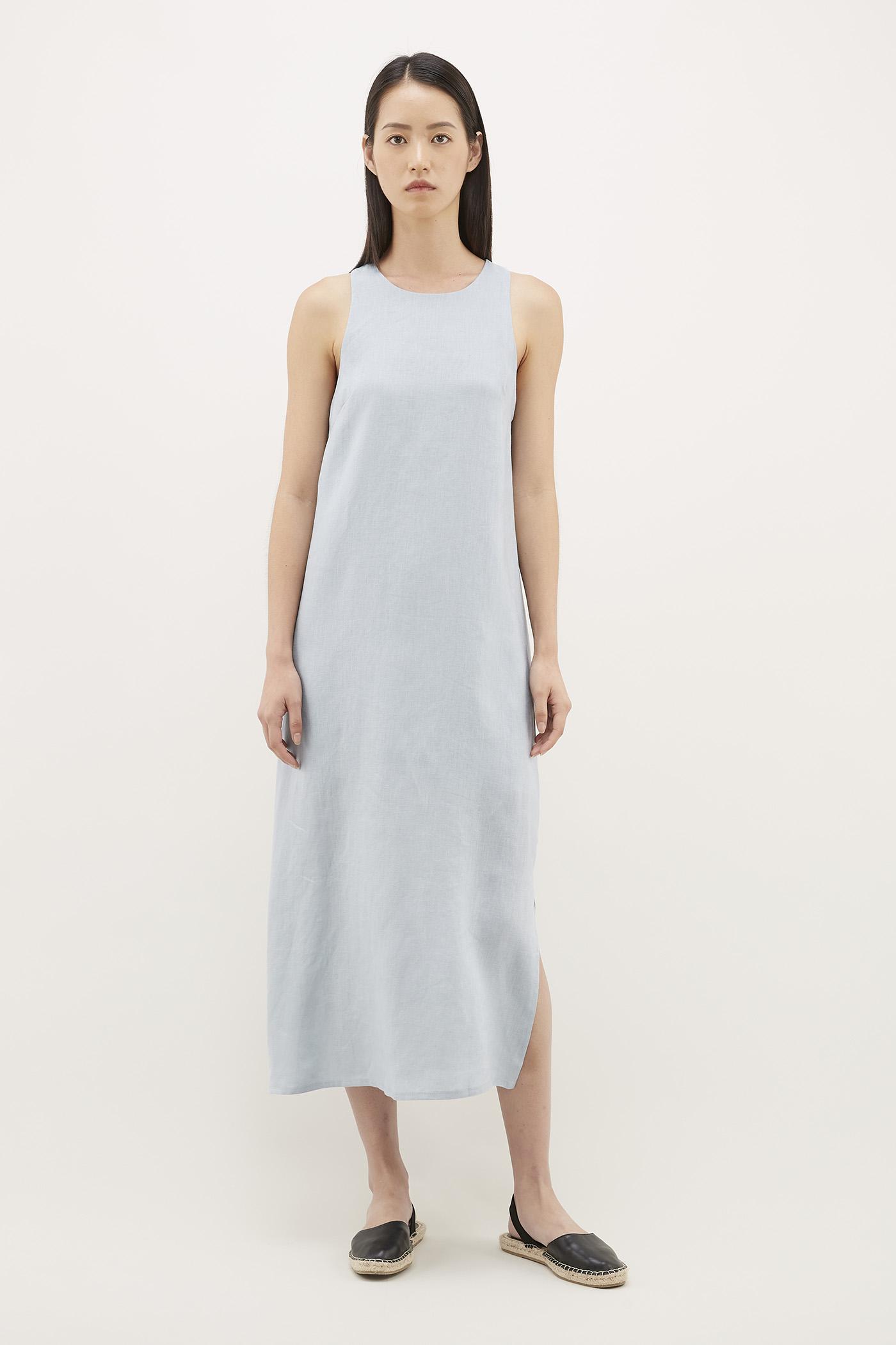 Felania Linen Dress