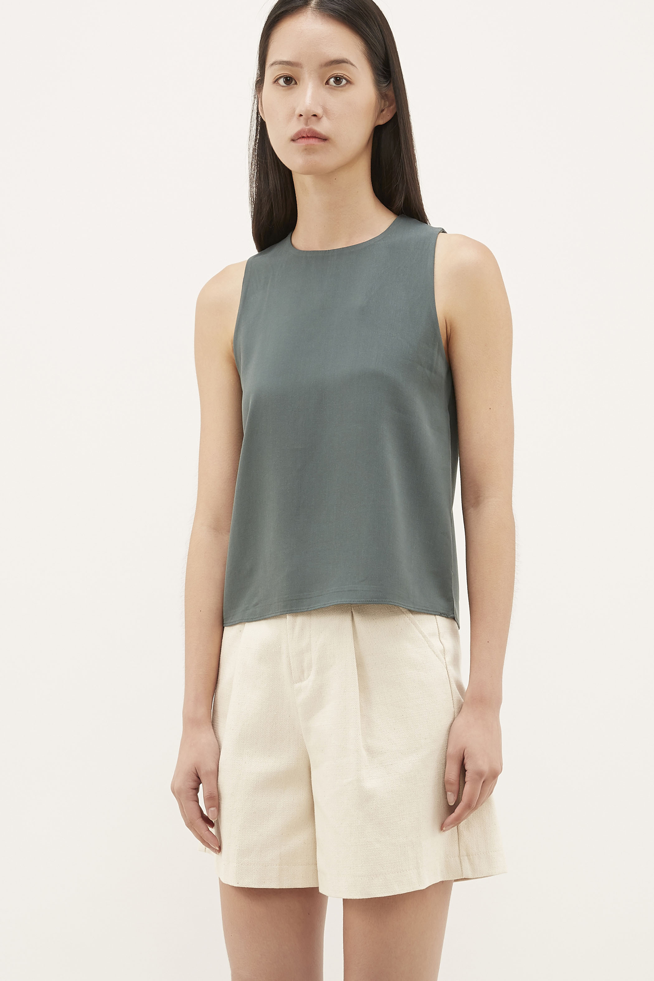 Sheril Shift Top