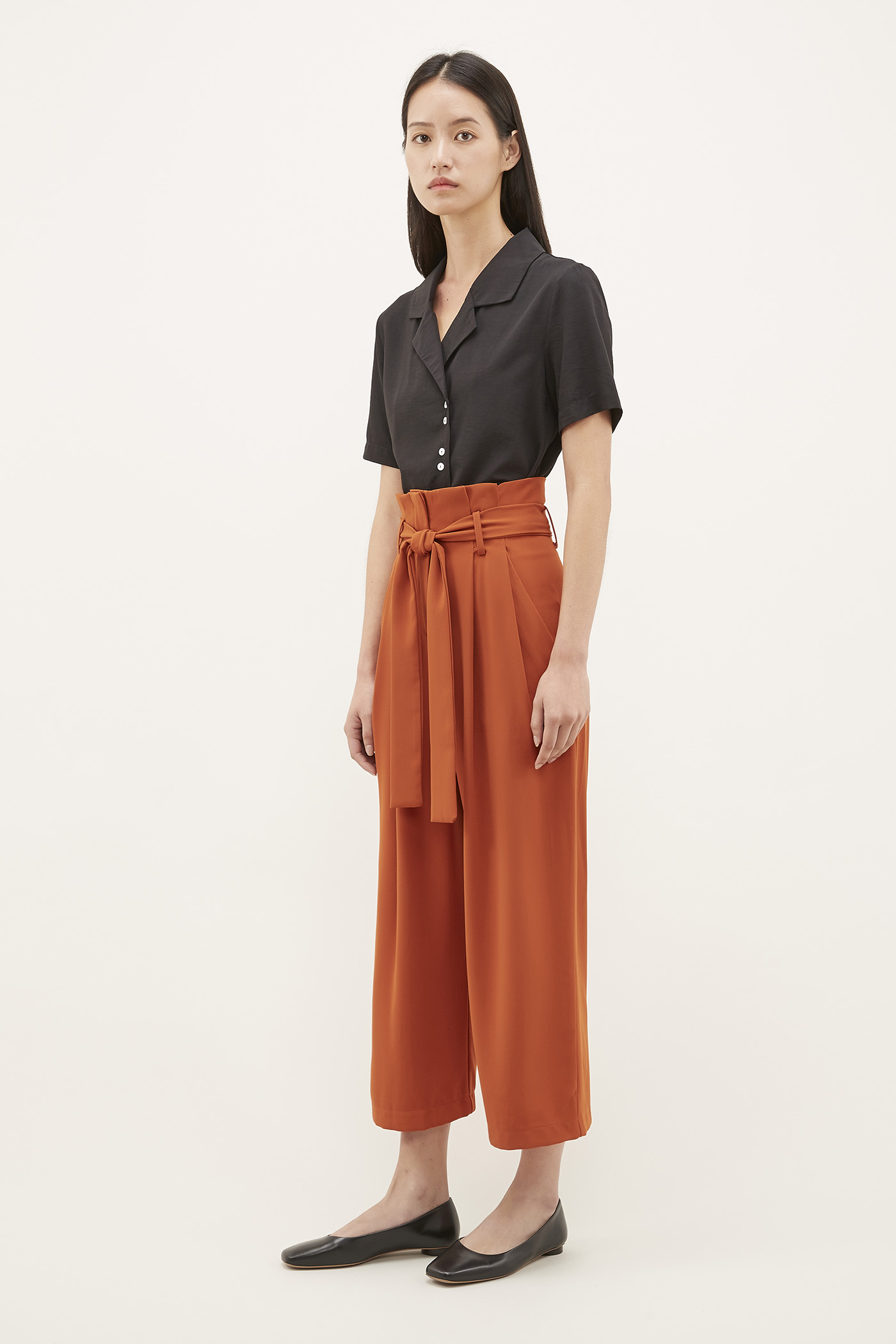 Edrick Gathered-waist Pants