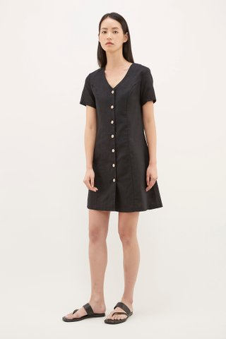Corelia Button-Through Dress