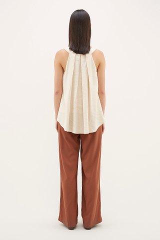Kosie Back-pleated Top