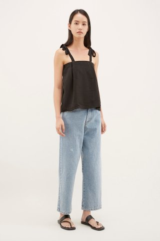 Linsy Tie-Strap Top