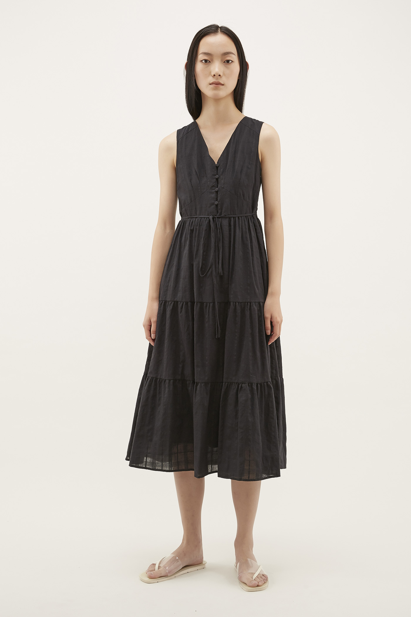 Amisha V-neck Maxi Dress