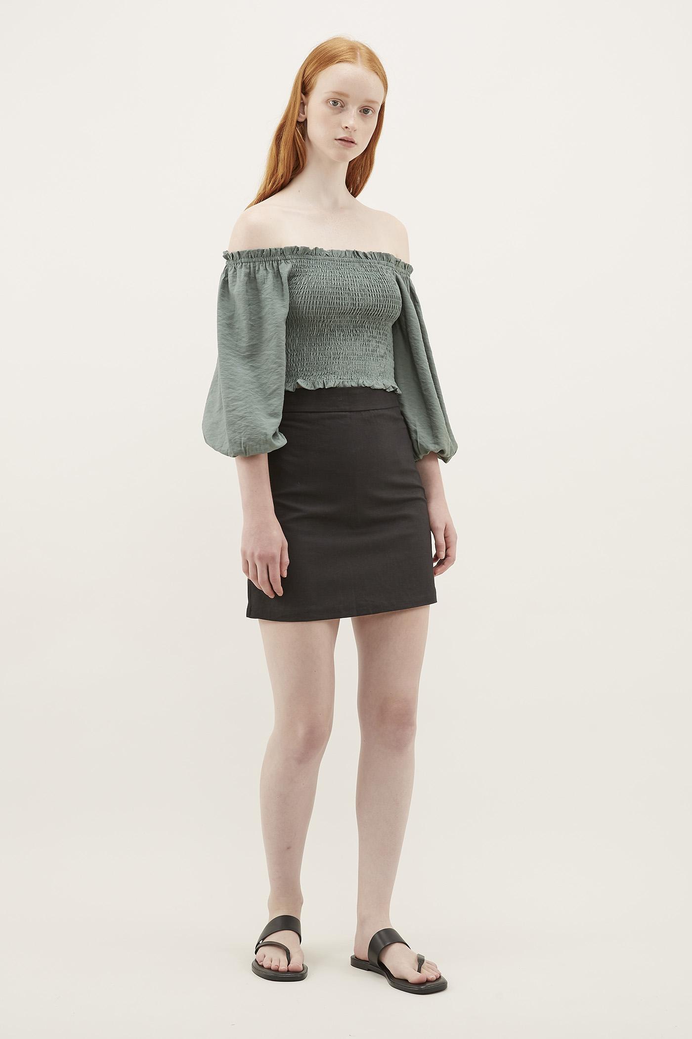 Meya Fitted Skirt