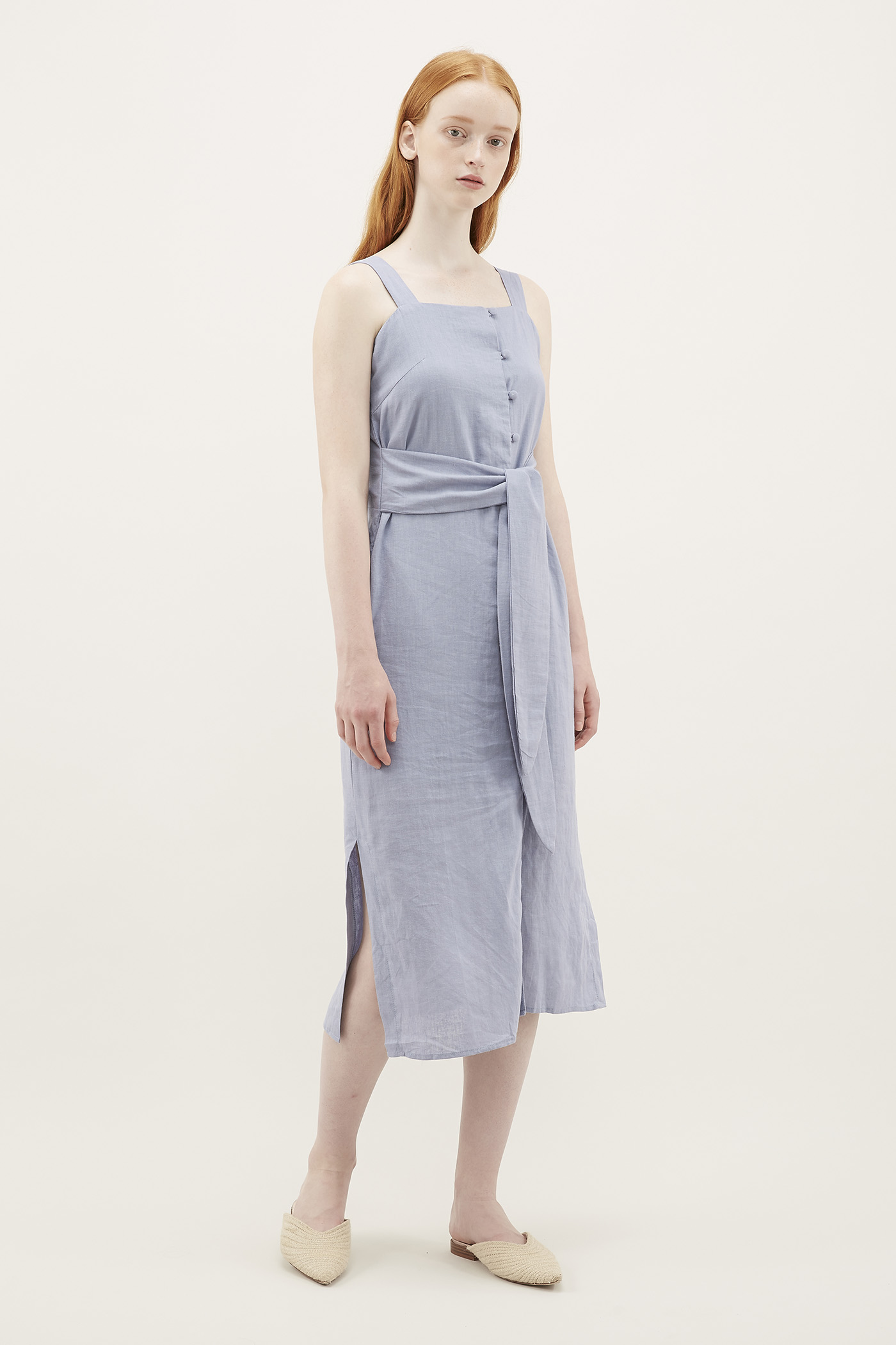 Erikson Square-neck Dress