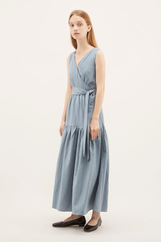 Nelida Drop-waist Dress
