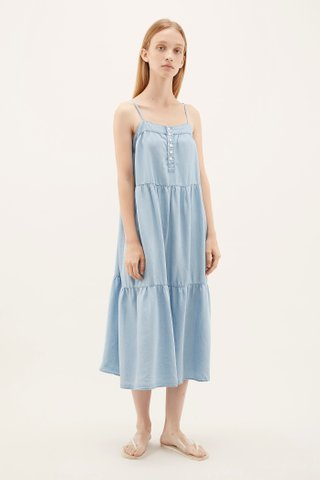 Mirca Tiered Maxi Dress