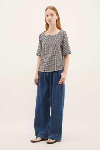 Kerilyn Square-neck Blouse