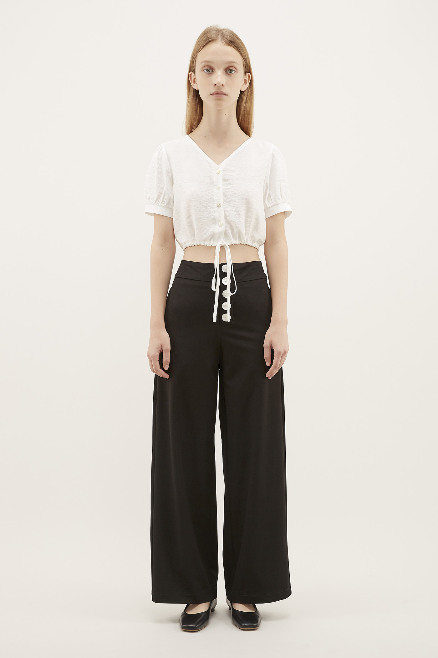 Parlis Wide-leg Pants