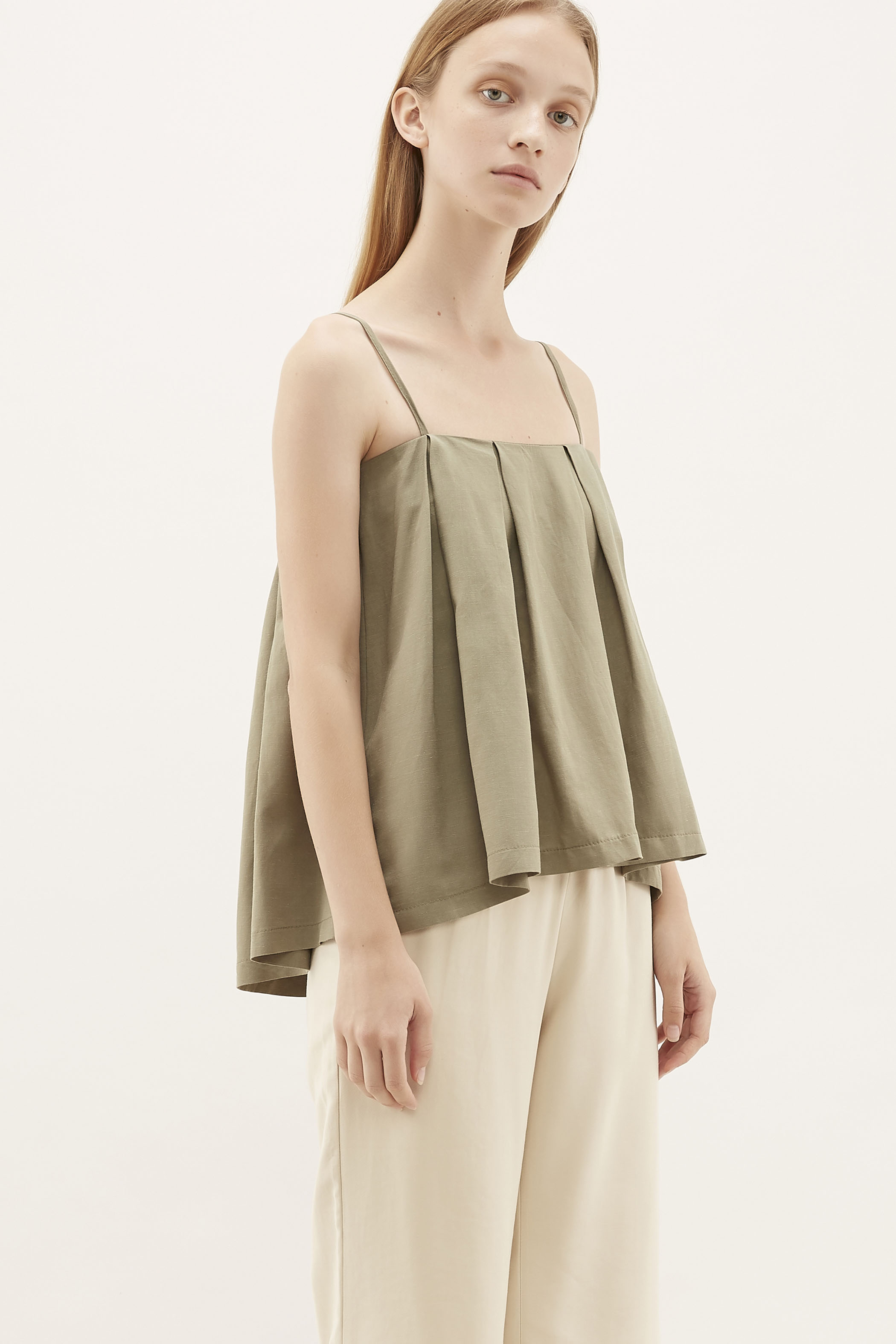Liron Pleated Camisole